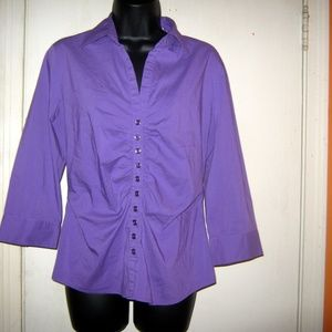 New York and Company Medium Stretch Blouse